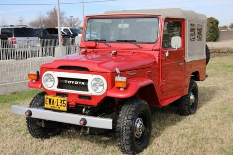 1976 Toyota FJ43 Convertible for sale