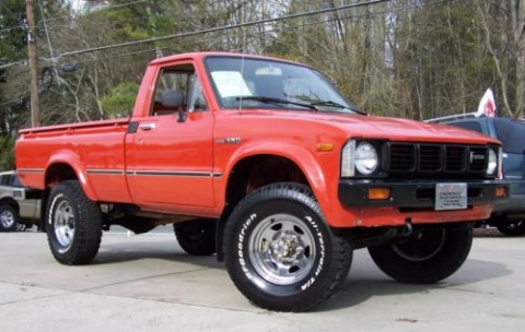 1980 Toyota Pickup 4X4 4 Speed Survivor for sale
