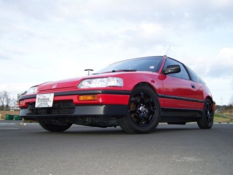 1989 Honda CRX DX Si 5 SPD for sale