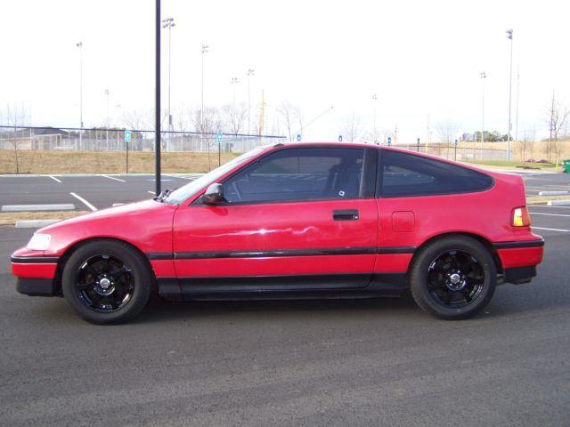 1989 Honda CRX DX Si 5 SPD