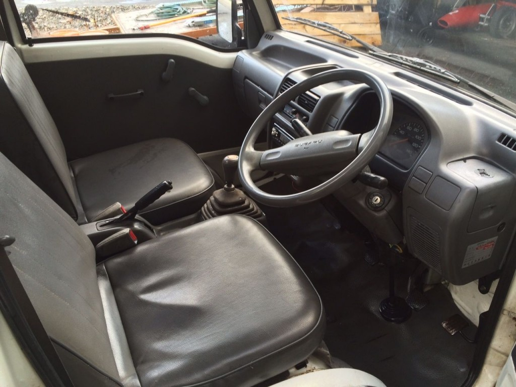 1991 Subaru Sambar Mini Pickup with Power Lift gate and 4WD