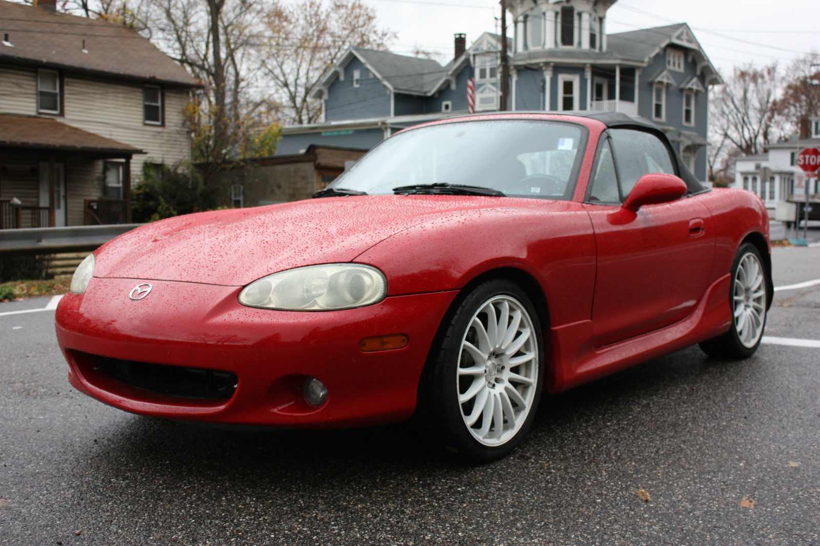 2003 mazda miata ls convertible 2 door 1 8l for sale. Black Bedroom Furniture Sets. Home Design Ideas