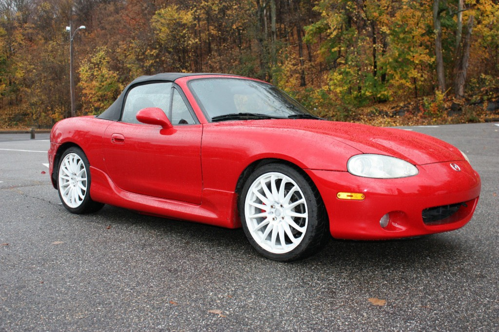 2003 Mazda Miata LS Convertible 2 Door 1.8L