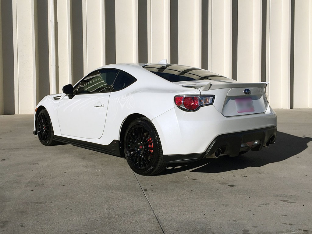 2015 Subaru Brz Series Blue Special Edition For Sale