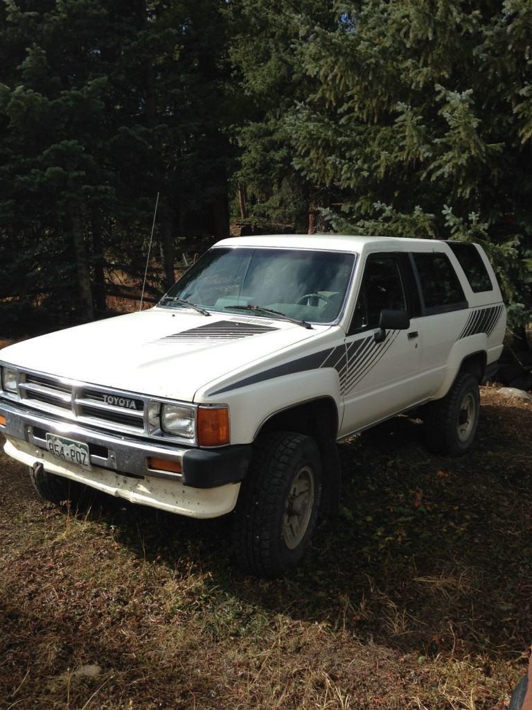 1987 Toyota 4Runner original truck