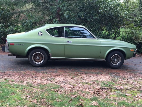 1974 Mazda RX4 Coupe, Olivine Green for sale