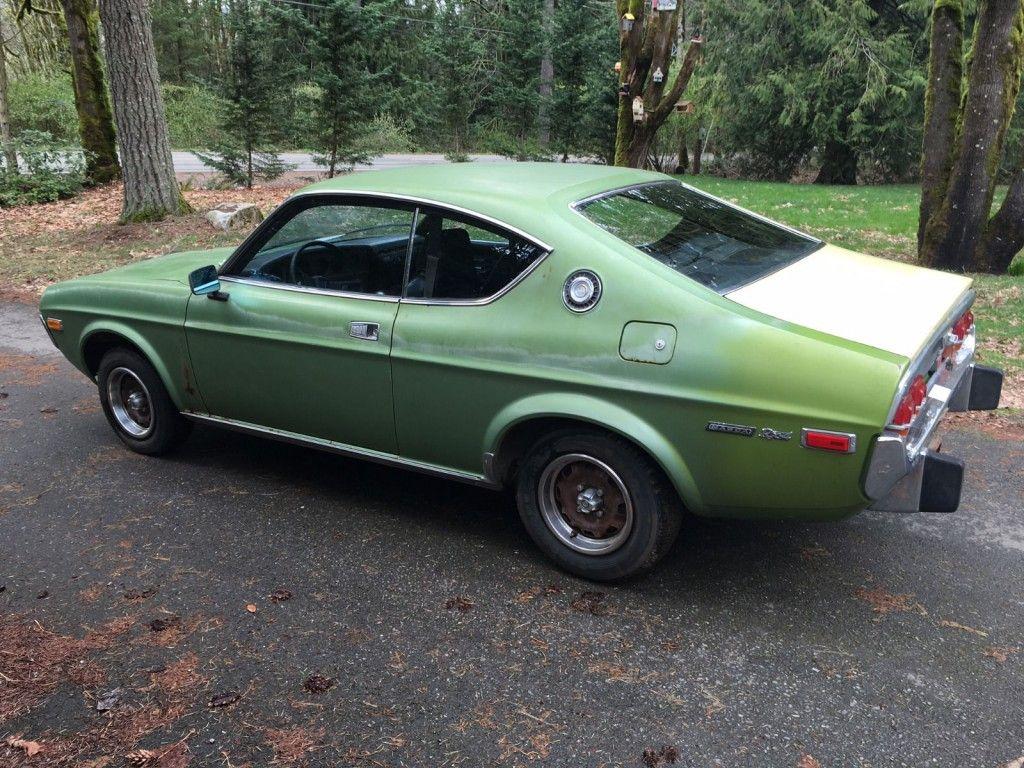 1974 Mazda RX4 Coupe, Olivine Green