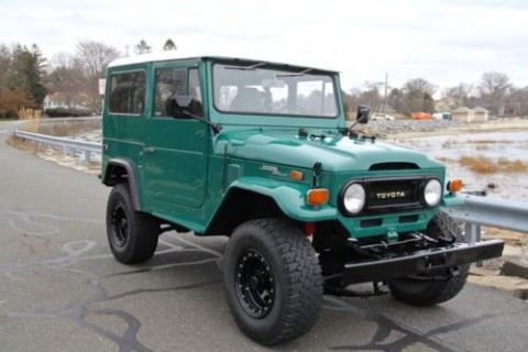1974 Toyota Land Cruiser FJ40 restored for sale