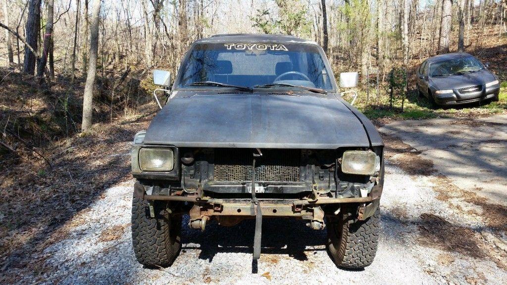 1982 Toyota 4×4 Truck Trailblazer