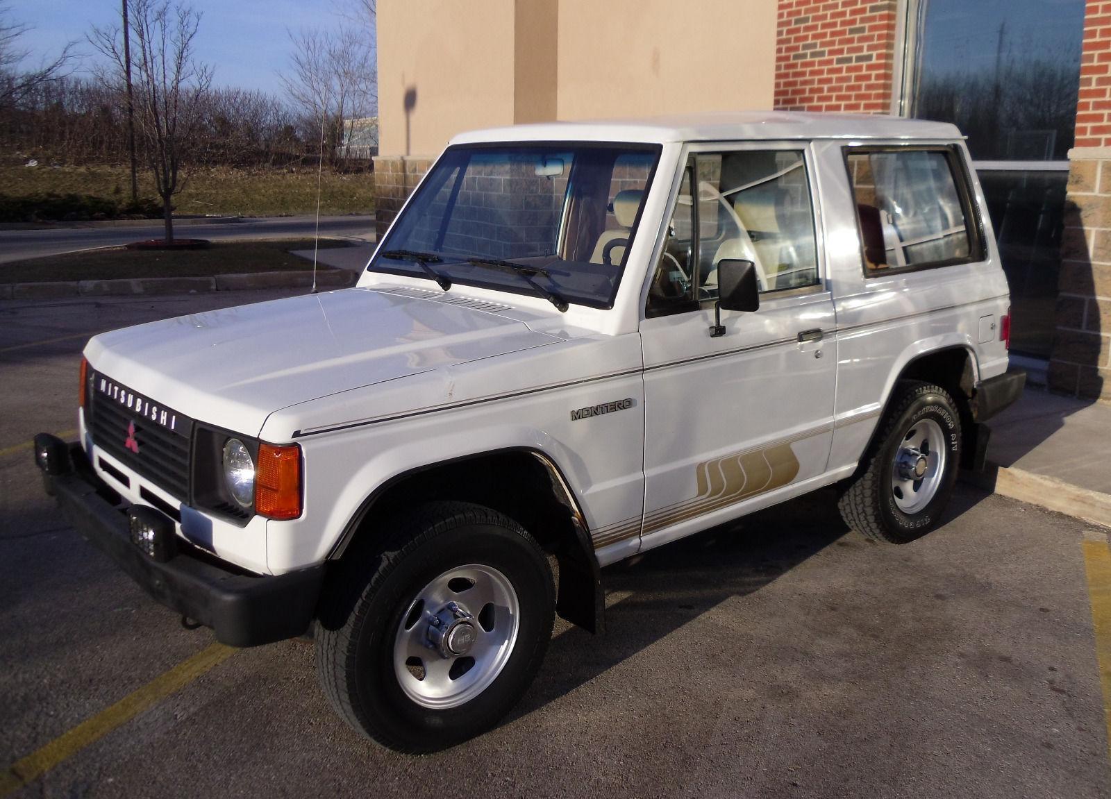 1987 Mitsubishi Montero for sale