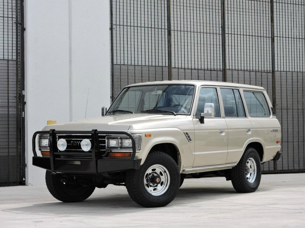 1989 Toyota Land Cruiser GX