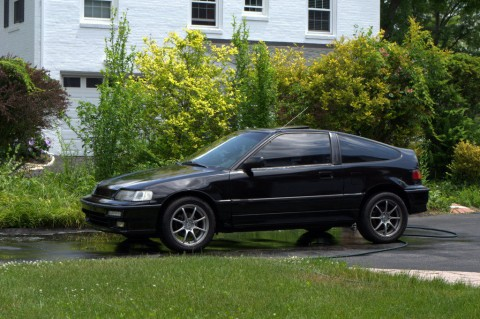 1990 Honda CRX Si 5Sp Black Sports Car for sale