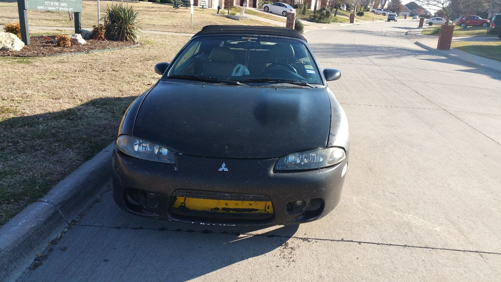 1999 Mitsubishi Eclipse Spyder Gst Convertible For Sale