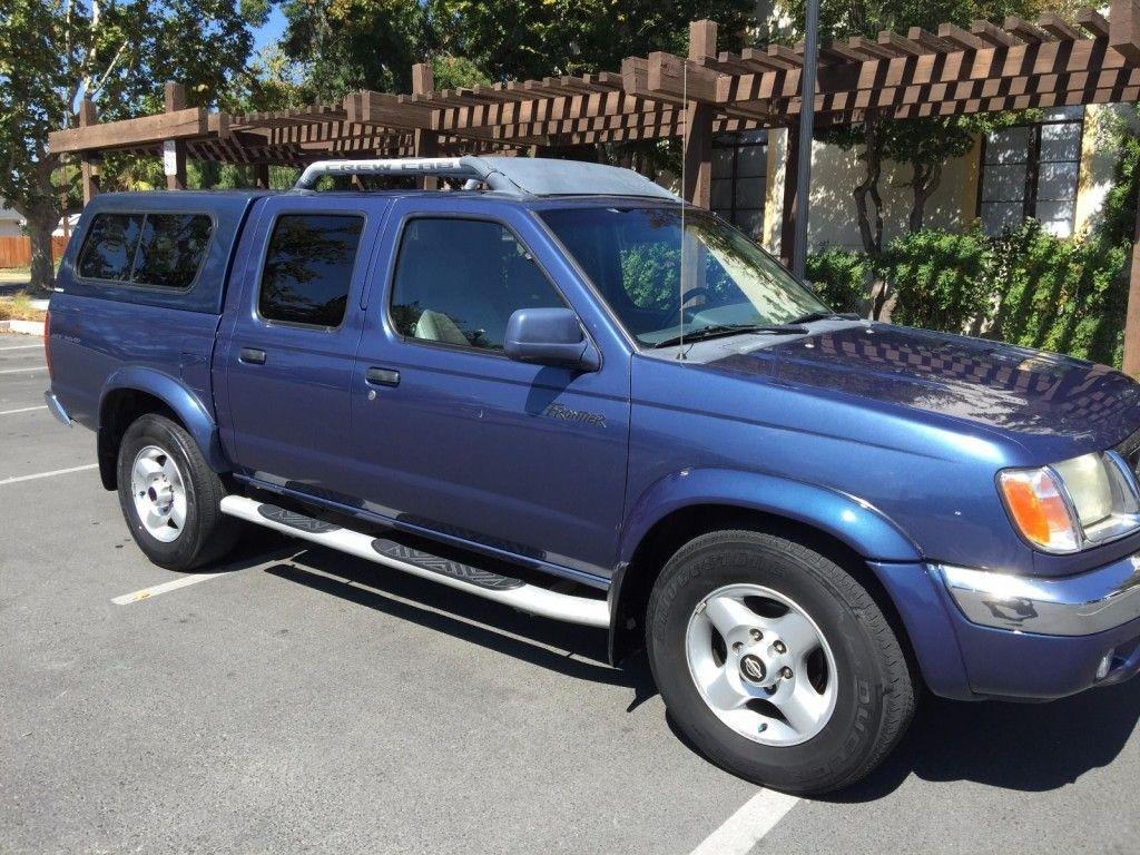 2000 Nissan Frontier SE CC 4×4