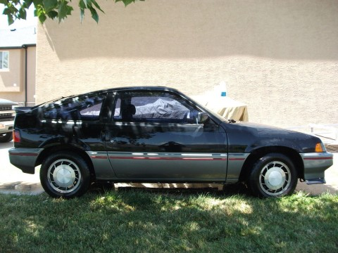 1985 Honda CRX SI for sale