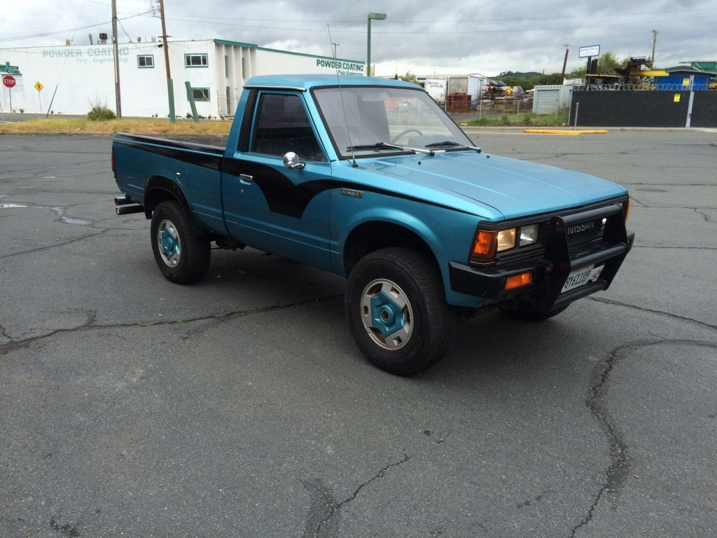 1985 nissan 720 4x4 for sale. Black Bedroom Furniture Sets. Home Design Ideas