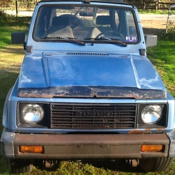 1987 Suzuki Samurai JA 4WD for sale