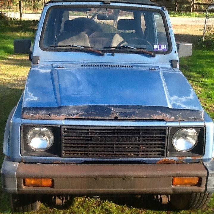1987 Suzuki Samurai JA 4WD