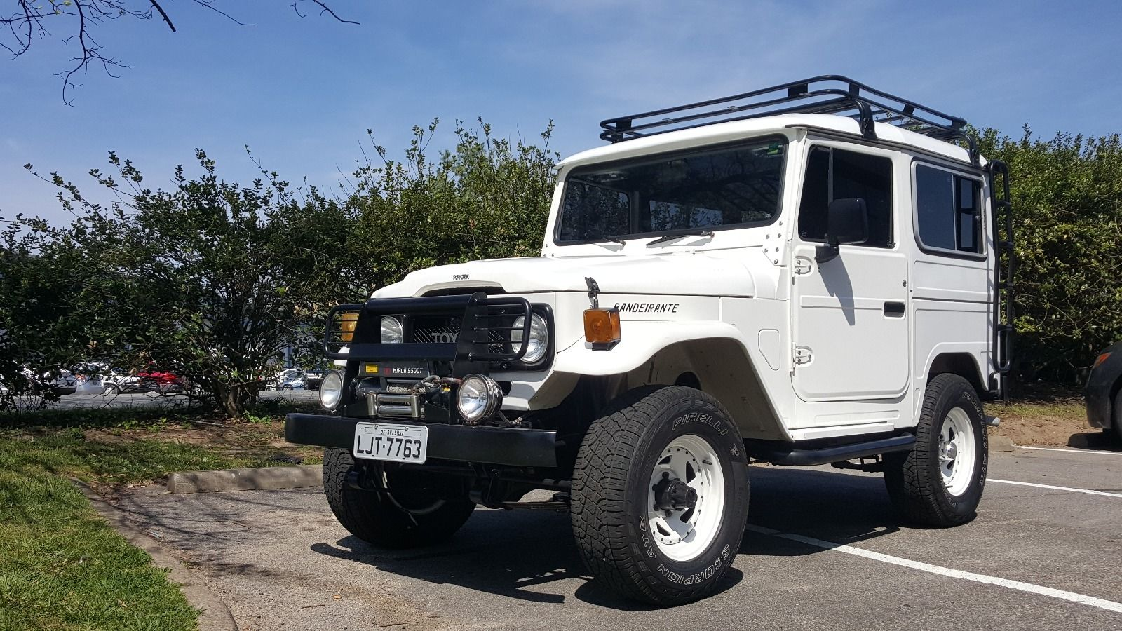1989 toyota land cruiser fj40 bandeirante for sale. Black Bedroom Furniture Sets. Home Design Ideas