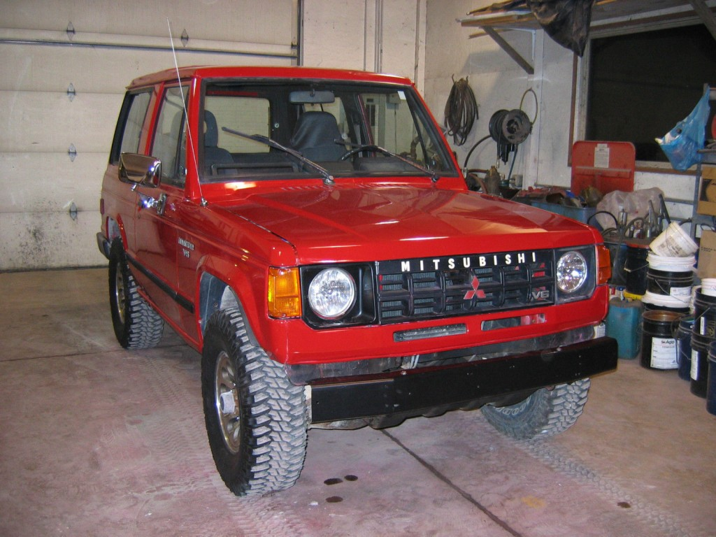 1990 Mitsubishi Montero
