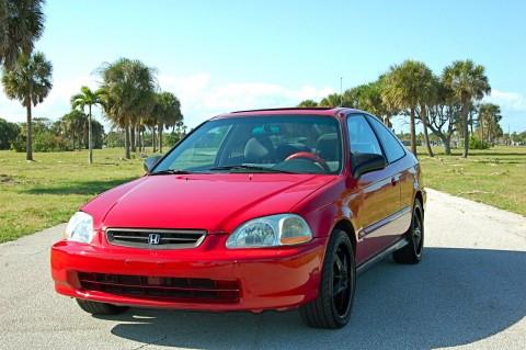 1996 Honda Civic EX Coupe for sale