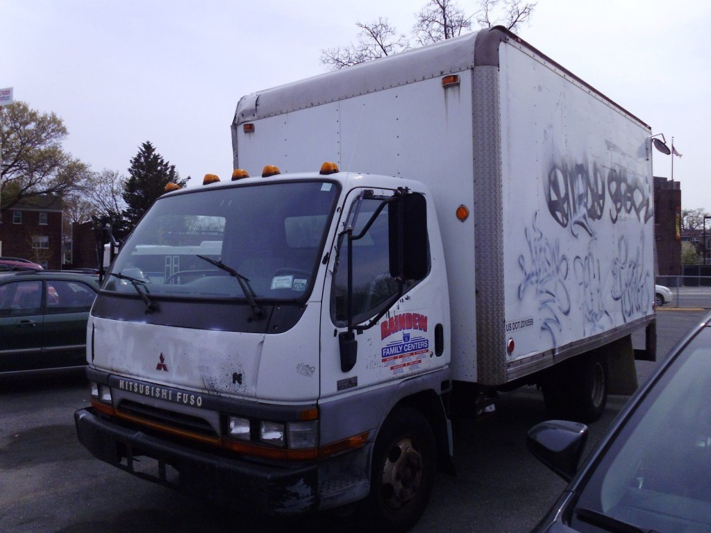 1996 Mitsubishi FUSO FE Diesel Truck