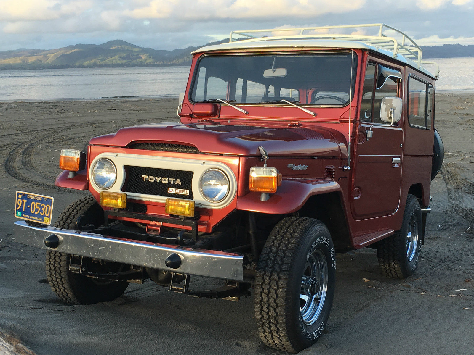 1979 toyota land cruiser bj40 diesel for sale. Black Bedroom Furniture Sets. Home Design Ideas