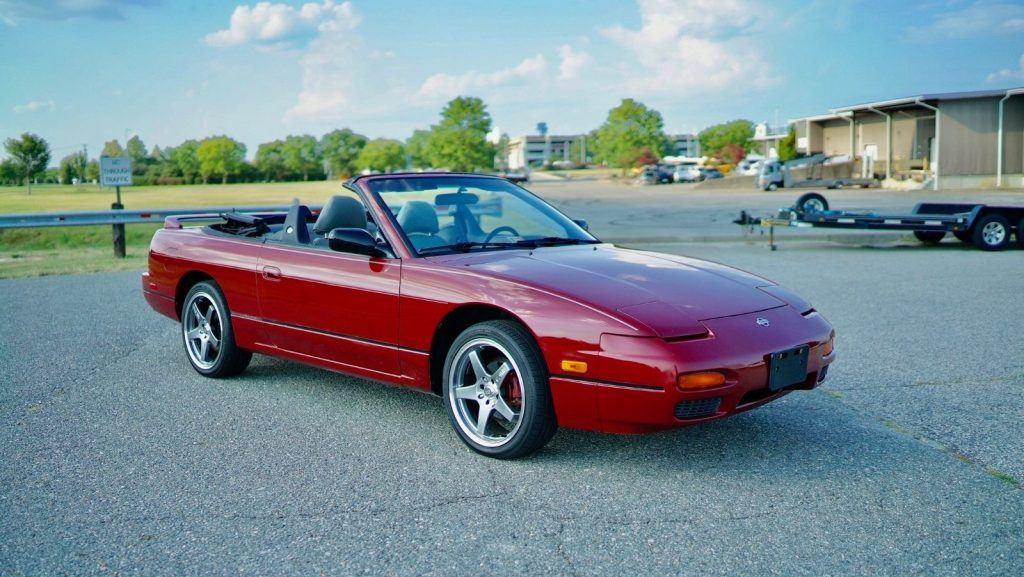 Rare 1994 Nissan 240SX Convertible