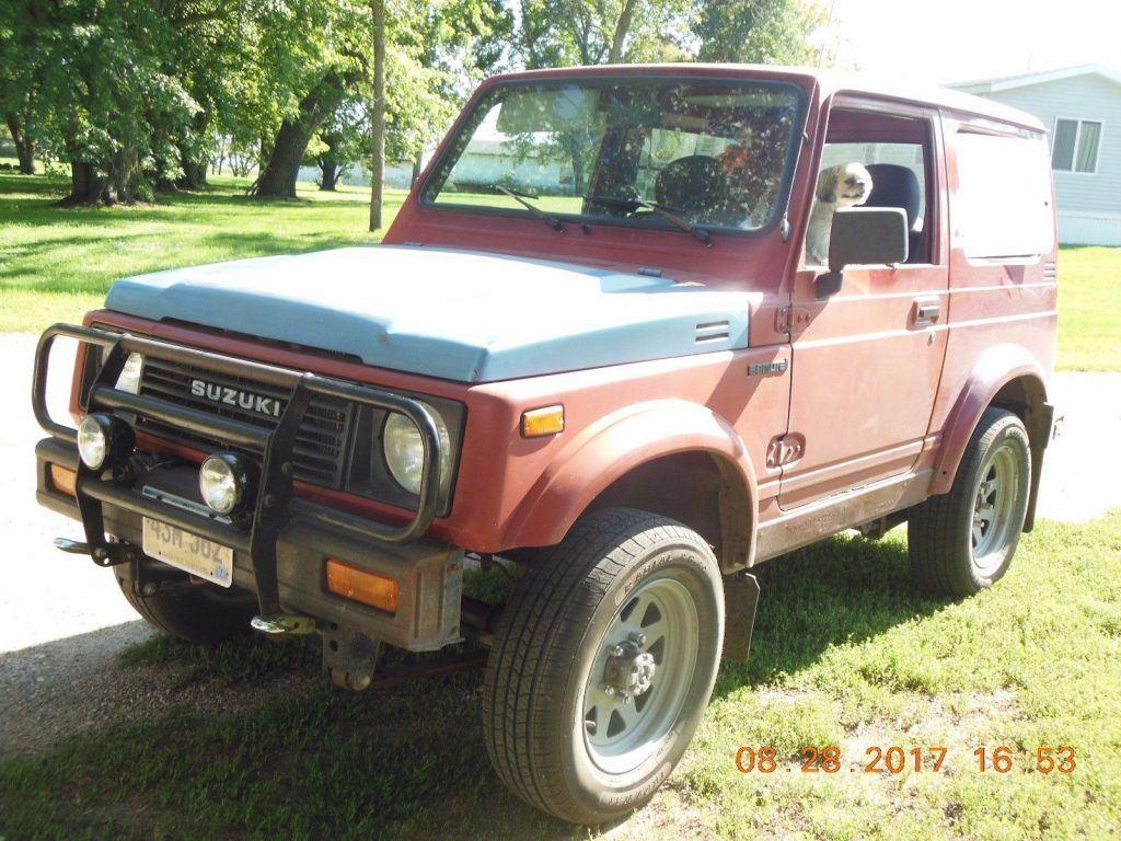 1986 Suzuki Samurai tin top