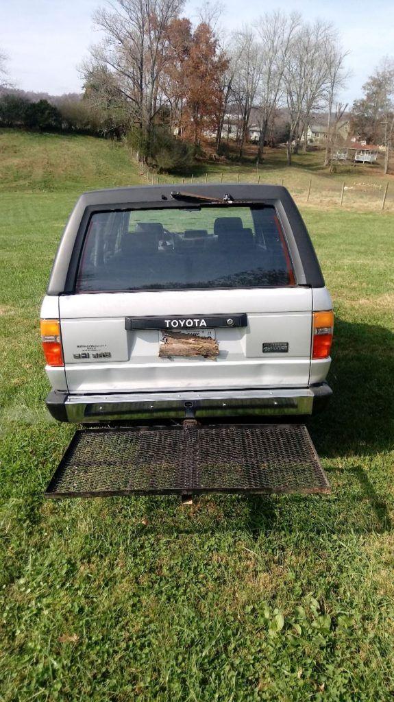 1987 Toyota 4runner 4wd