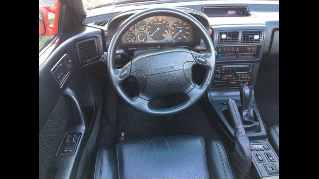 BEAUTIFUL 1991 Mazda RX 7 Convertible