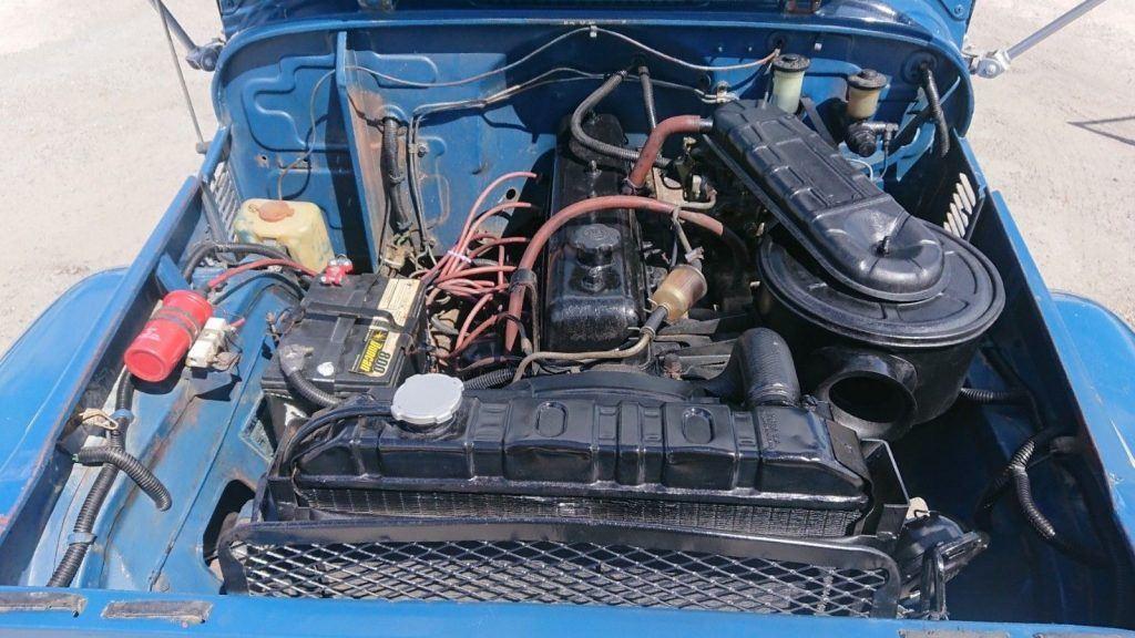 1974 Toyota Land Cruiser FJ45 Pick Up