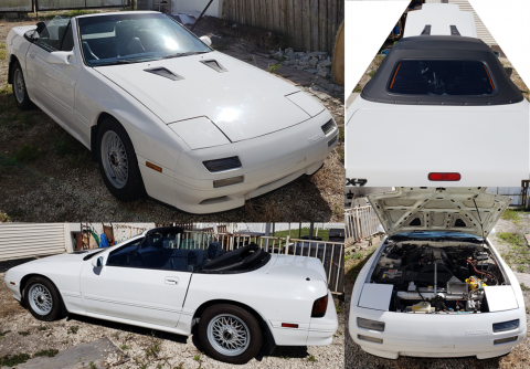1990 Mazda RX-7 Convertible Running with Many Many Spare Parts for sale