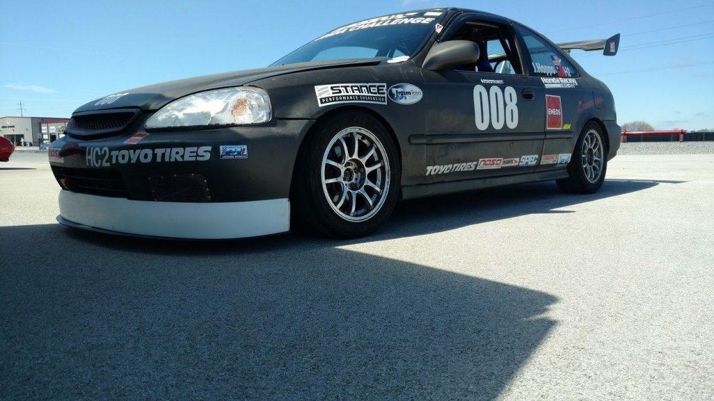 1996 Honda Civic EX Coupe Race Car