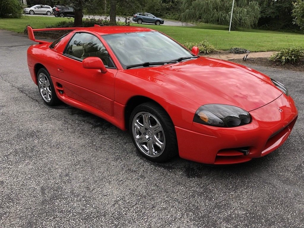 1999 Mitsubishi 3000GT VR-4, Final Production year 125 of 287